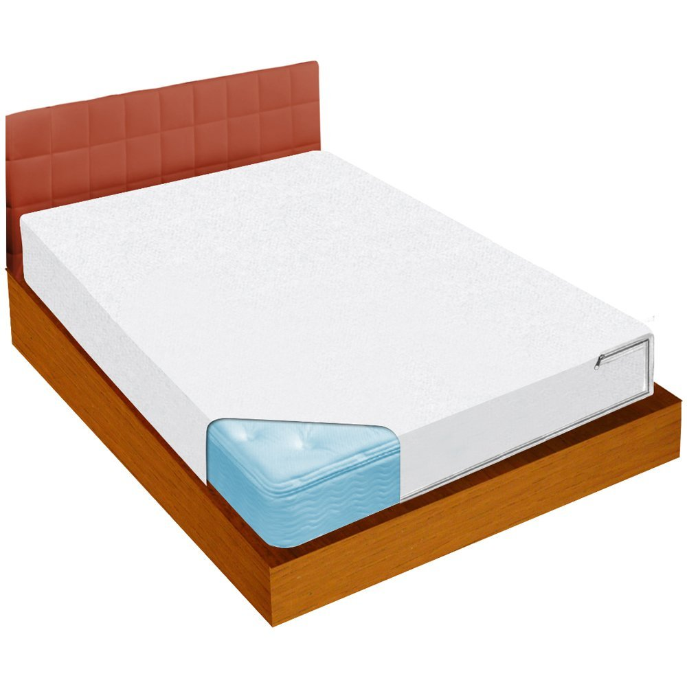 Ideaworks Jobar Bed Bug Blockade Zippered Queen Size