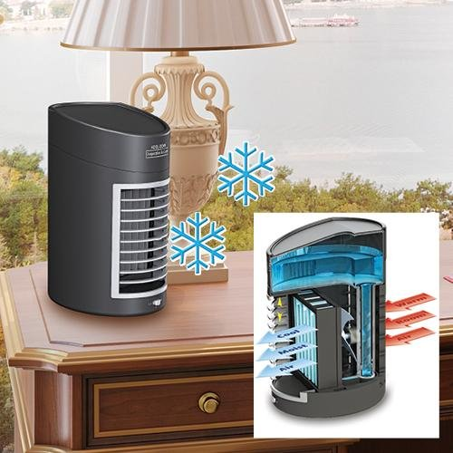 Evaporator Portable Desktop Office Air Conditioner 2 Speed