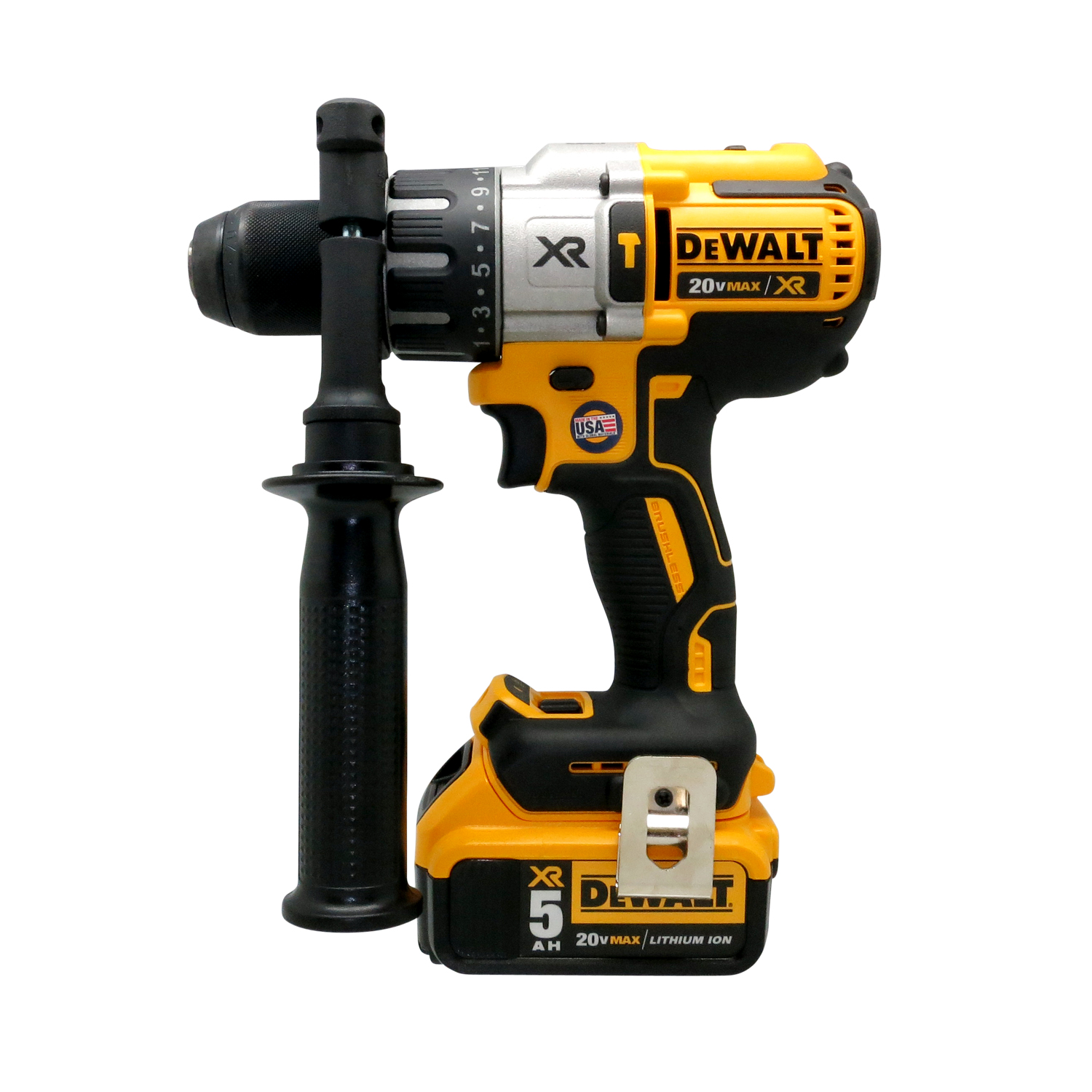Dewalt dck299p2 20v 20 volt lithium ion brushless for Dewalt 20v brushless motor